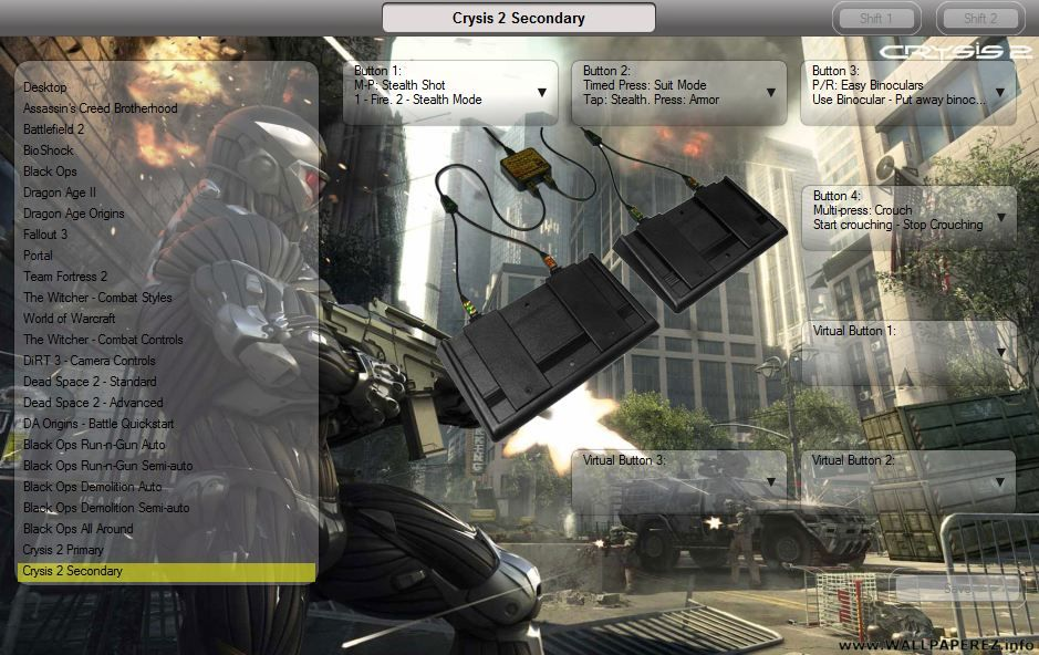 Crysis 2 Footpedal configuration