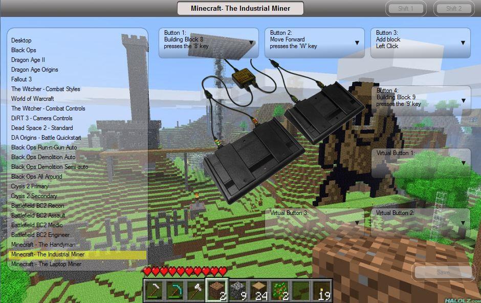 Minecraft Industrial Controls